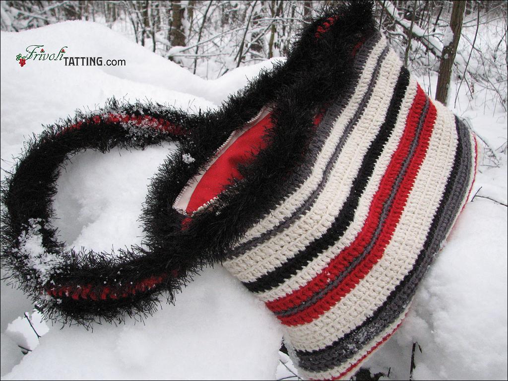 Вязаная сумка. Knitted bag